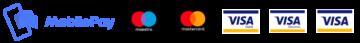Betalingskort ikoner