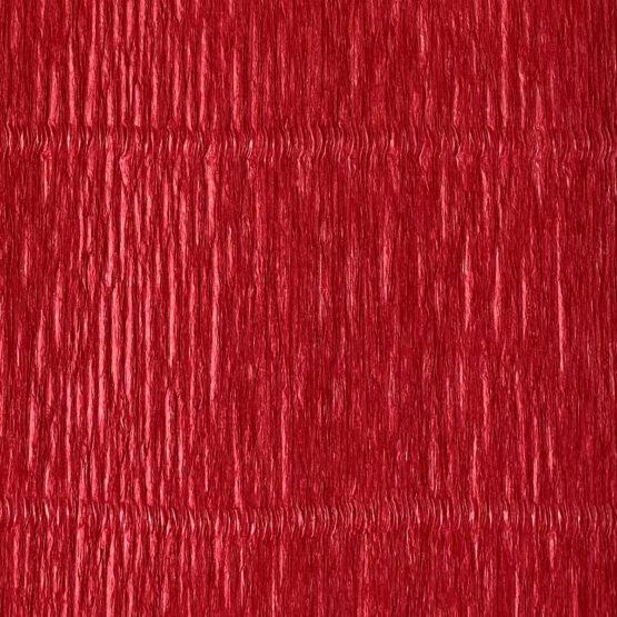 Rød – 180g crepe papir